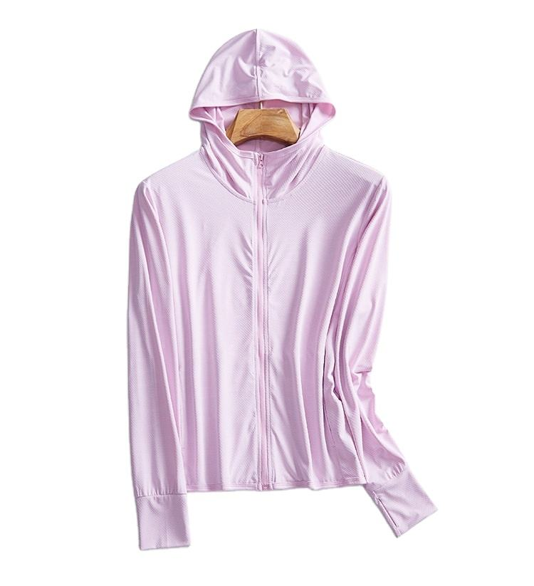 Outdoor Sports Jacket Wear Resistant Ultraviolet Proof Tops Soft Ice Cold Unisex Rush Guard