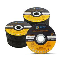 SATC High speed 5-inch 125*1*22 Cutting Wheel/Cutting Disc For Inox/stainless steel Cutting with MPA certificate