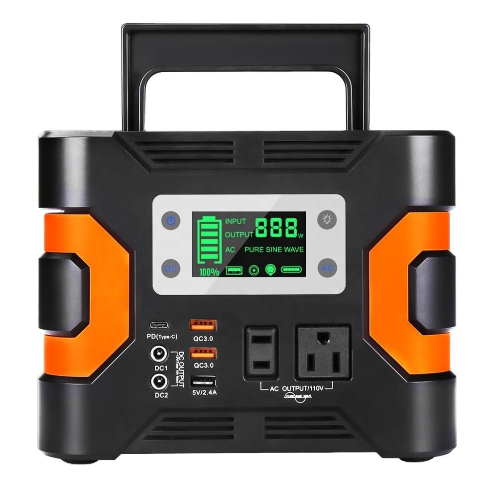 110V 220V 300W 330Wh 500wh smart system All in one lithium battery power station