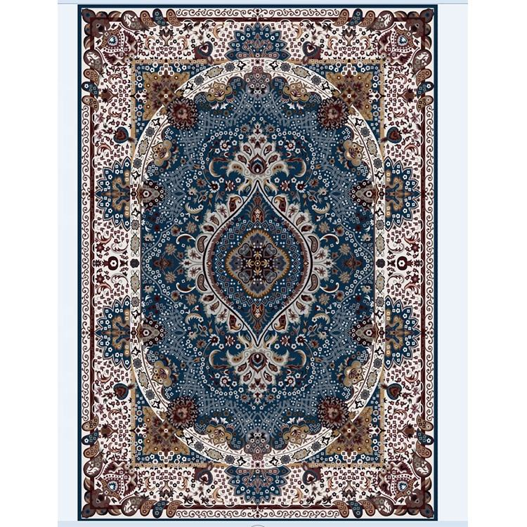 printed machine made washing persian kilim living room floor carpets and rugs for sale