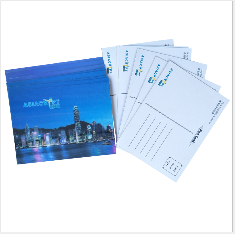 Wholesale Custom travel post card printing