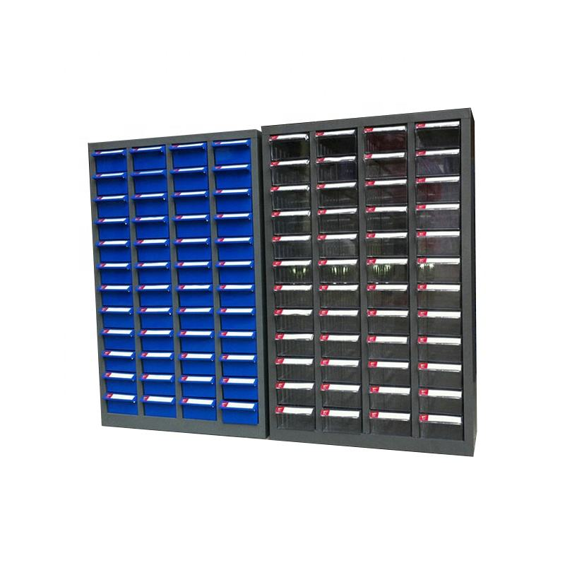 48 drawer industrial metal electronic component storage cabinets for small parts