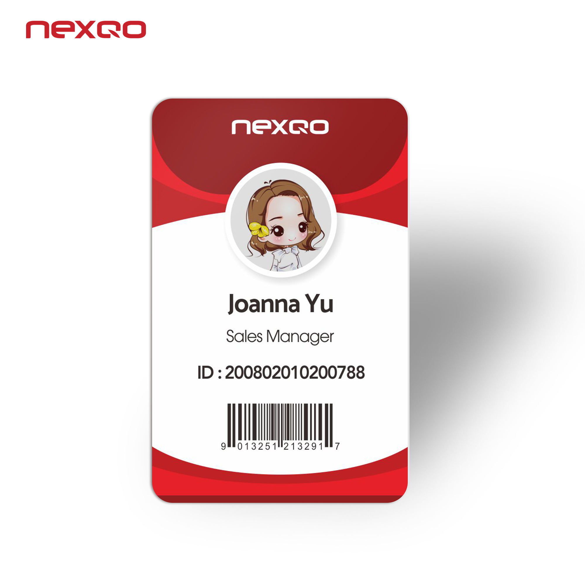 S0011 Hot Selling High Quality Full Color Printing PVC Hotel Employee ID Card Manufacturer from China