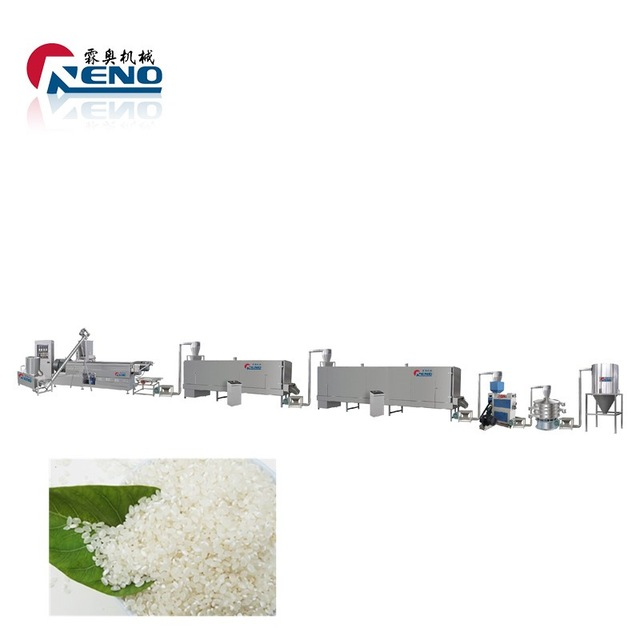 high-capacity convenient instant rice production line