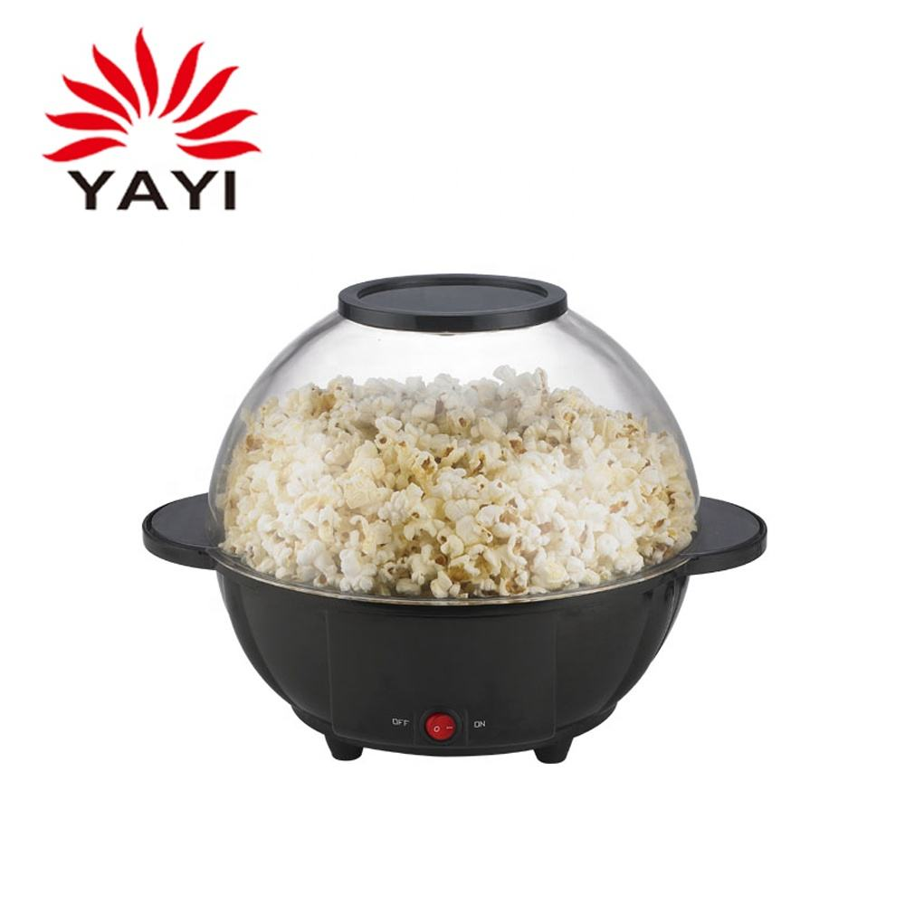 OEM Round Popcorn Popping Machine 850w Pop Corn Making Machine