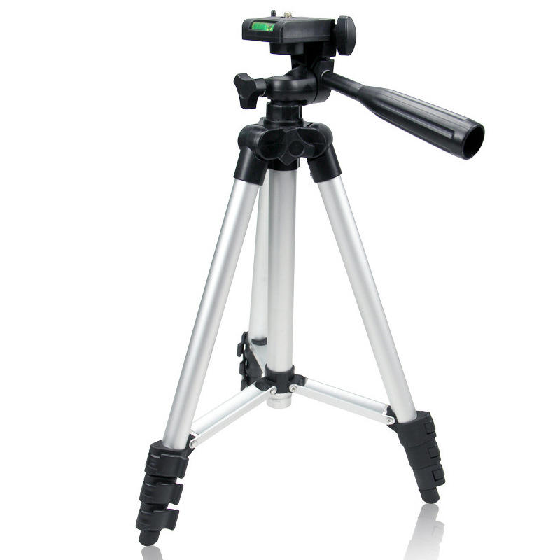 Factory Price Extendable Aluminum 3110 tripod cellphone and digital camera stand holder