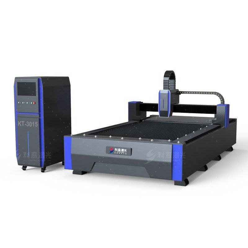 3015 1000w Metal fiber laser cutting machine with cutting tube for stainless steel,carbon steel,aluminum,copper