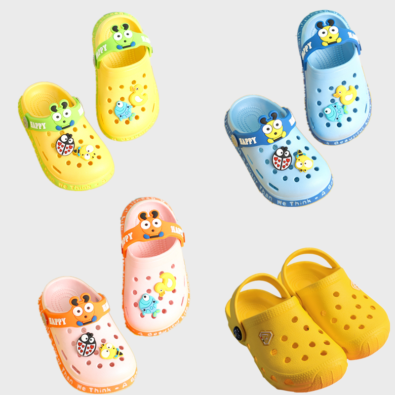2020 summer new baby cartoon cute beach kids slippers,Children's sandals Soft sole non-slip Eva Garden Clogs