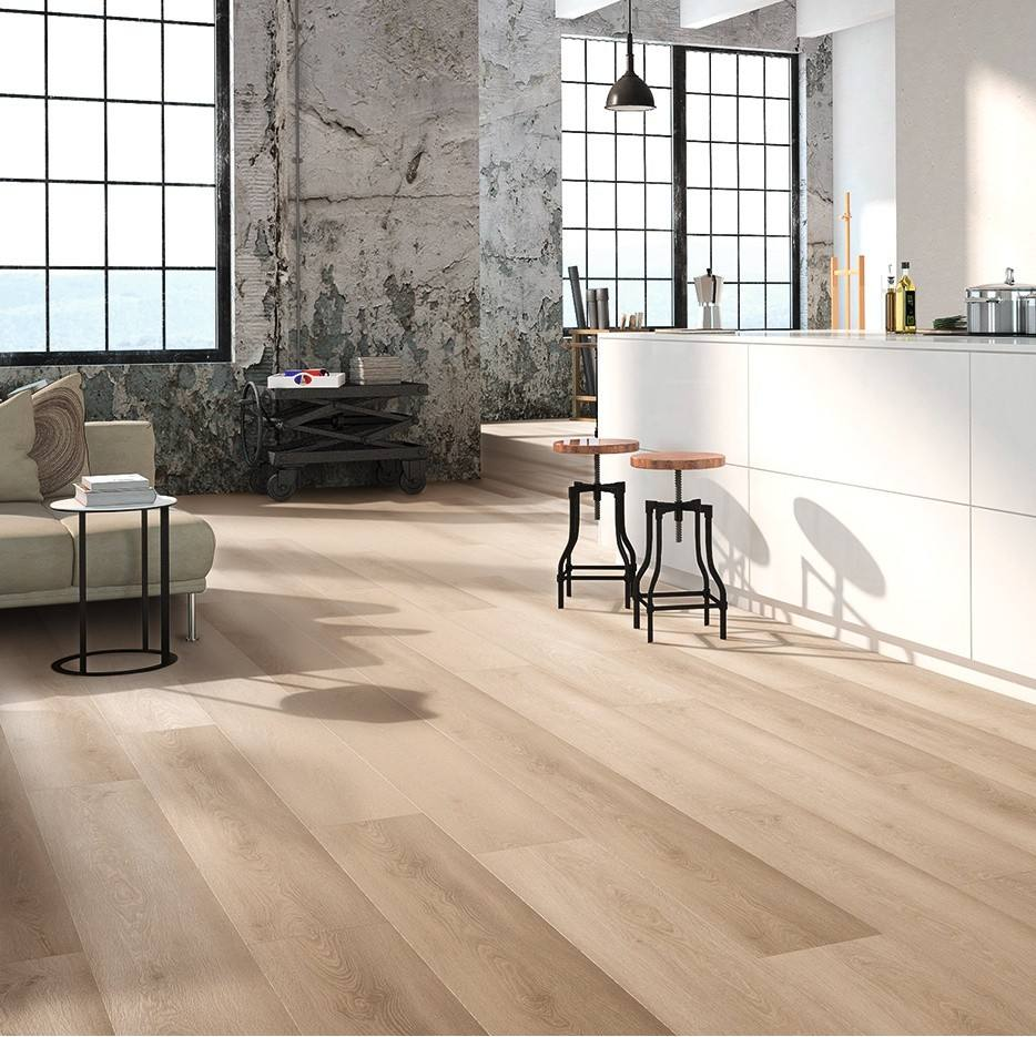 EIR OAK texture Indoor decoration 5mm 6mm SPC click lock vinyl plank flooring