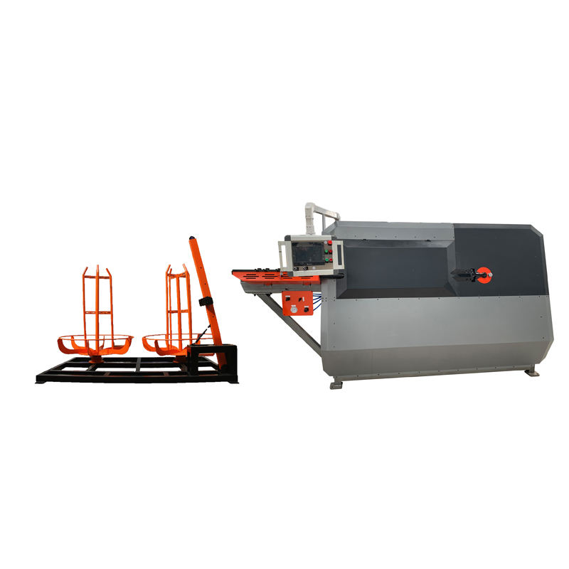 Bar 2d Cnc Wire Bending Machine Price, Bending Stirrup Making Machine 6-12mm Round Steel Metal Sheet Rolling Cutting Bending