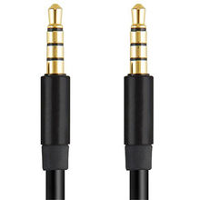 4 Pole 3.5mm Jacks Male Stereo AUX Audio Video Extension Cable