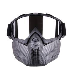 2020 Wholesale Motorcycle Protective Mask Anti dust with Snowmobile Goggles /Skiing Glasses / Motocross Sunglasses