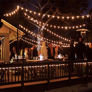 Wedding patio lighting decorative outfit weatherproof string lights with S14 bulb