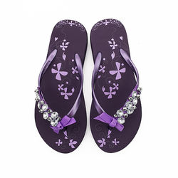 Factory wholesale hot items ladies comfort rubber slippers w
