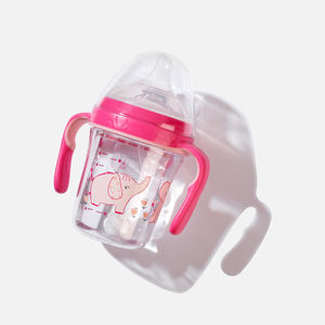 ALG 2020 New Design Baby Milk Sippy Feeding Bottle Super Wide Neck 240mL 150mL Baby Feeding Bottle