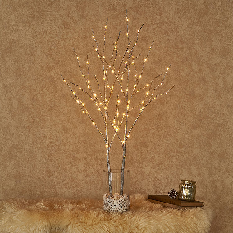 Home LED 32in Artificial Branch Battery Operated Branch Lights