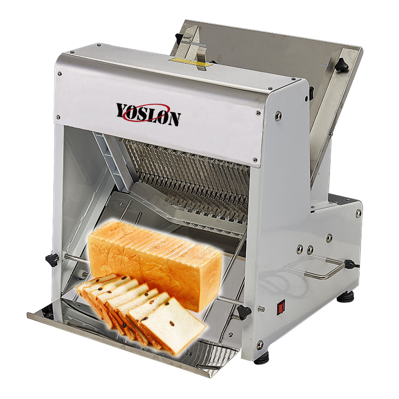 YOSLON 31pcs Cutting, cutter Machine Commercial Automatic Electric Bread Slicer for Bread Toast/