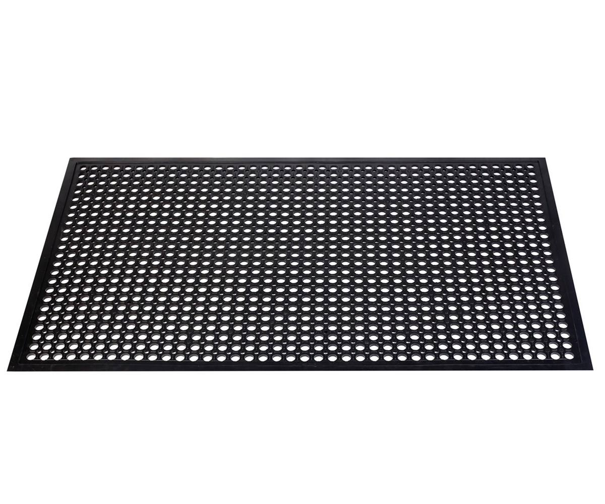 Heavy-Duty Non Slip Hollow Rubber Mat /rubber mat in kitchen carpet anti fatigue