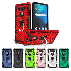 Unique TPU PC Mobile Custom Cell Phone Cases for lg stylo 6 Magnetic Kickstand Ring Holder Back Cover For lg harmony 4