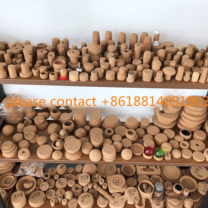 Factory Profesional in custom cork lids ECO -friendly Natural Wine Stopper, Hand Craft Wood Glass Bottle Wine Cork lids