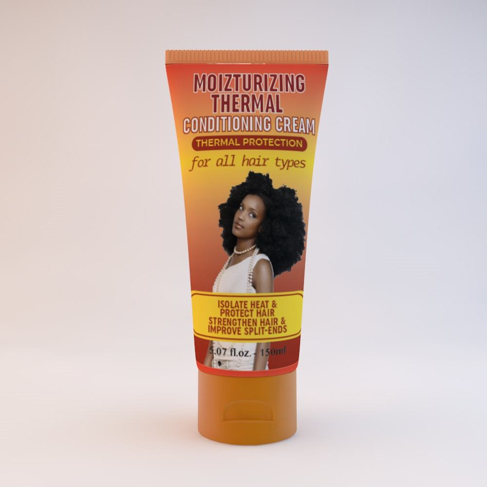 2020 Curly Hair Care Product Moisturizing Thermal Conditioning Cream For Africa