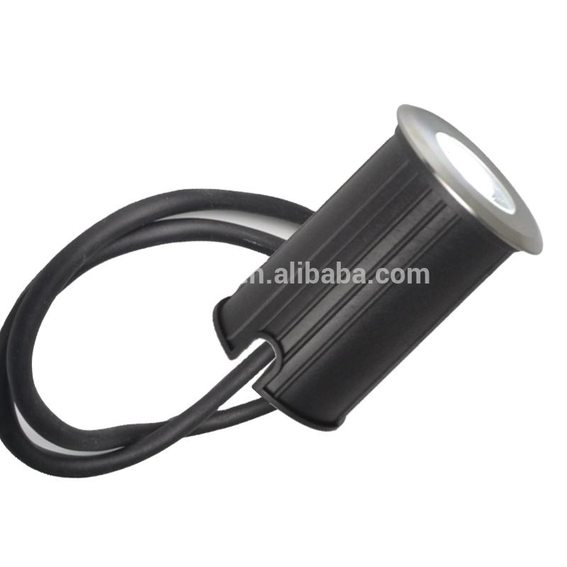 직경 52mm 1W 3W Piscina 수중 IP68 Inground LED 풀 빛