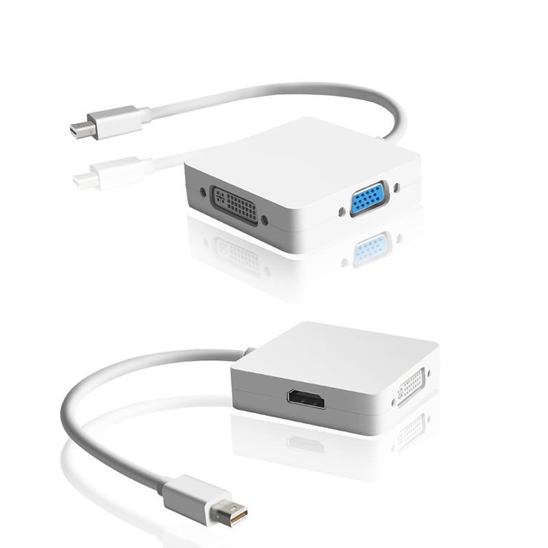 3 in <span class=keywords><strong>1</strong></span> Mini DP DisplayPort zu <span class=keywords><strong>HDMI</strong></span>/DVI/VGA Display Port Kabel adapter für Microsoft Surface Pro <span class=keywords><strong>1</strong></span> 2 3 4 5 <span class=keywords><strong>6</strong></span>