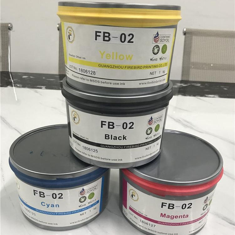 High Concentration Sheet Fed Offset Printing Ink
