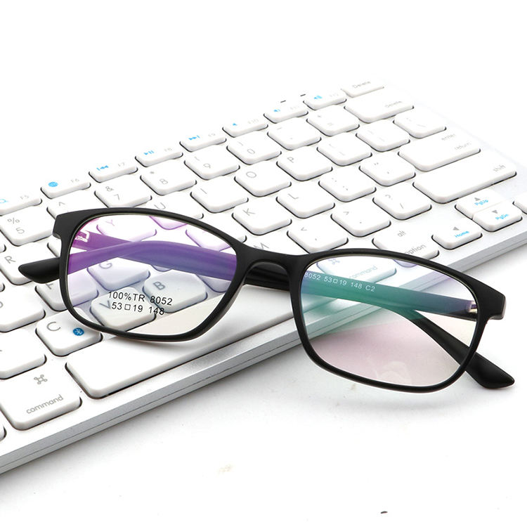 Transparent Blocker Lens Tr90 Anti Radiation Bluelight Glasses Computer Protective Ray Filtering Glasses Blue Light Blocking