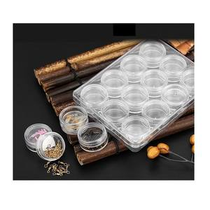 Wholesale 12 Grids Multifunction Acrylic Transparent Plastic Fishing Tackle Storage Box for Storing Hook Fish Lure