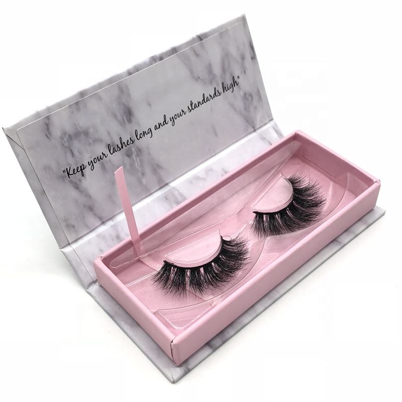 Akara wholesale human hair faux mink eye lashes custom private label silk eyelash packaging box 3d mink eyelashes vendor