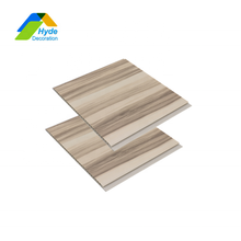 250x7.5mm Ceiling Import Faux Wooden Color Laminated Techos Pvc Wall Panel Importers