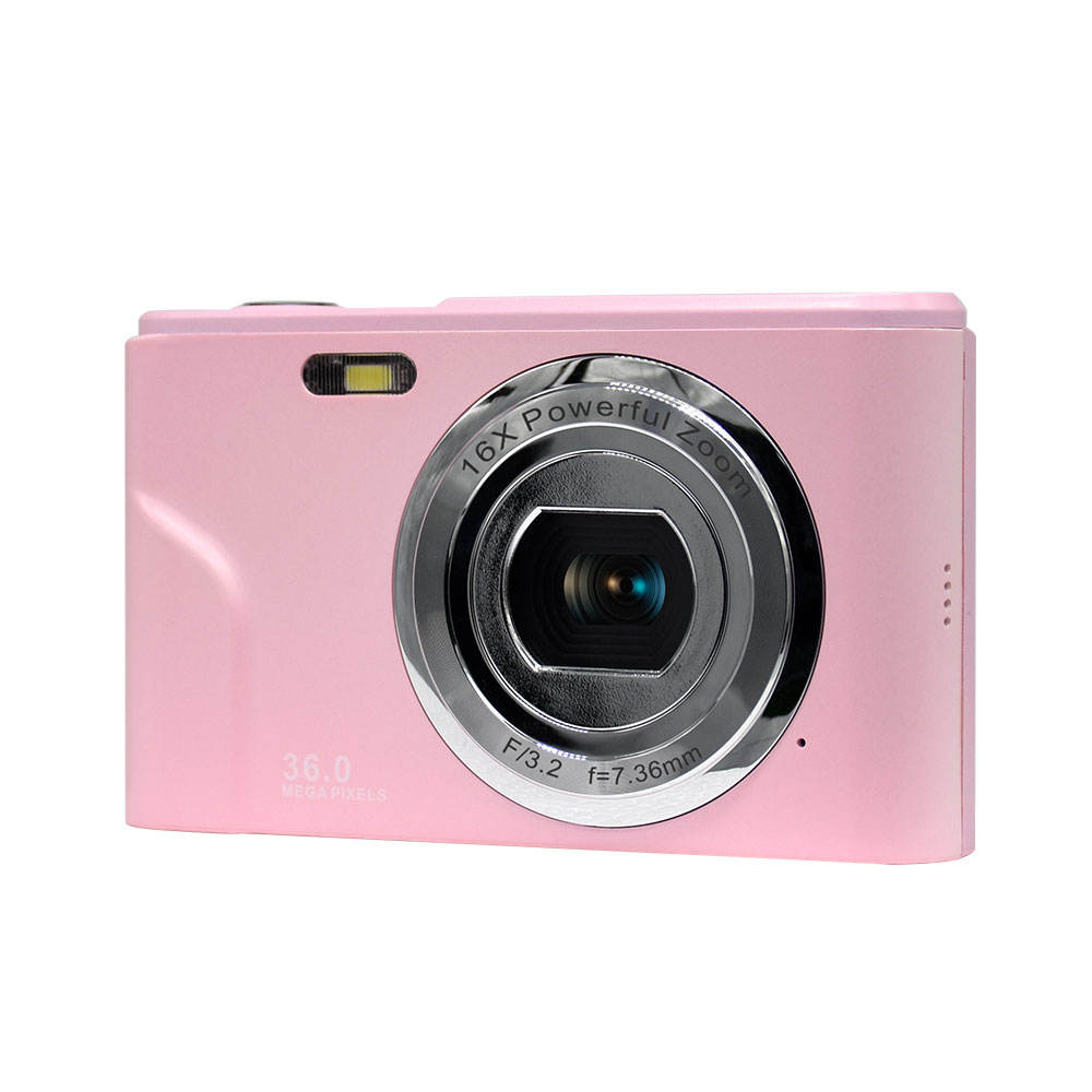 multi color Max 36 MP Digital Zoom Compact Camera with video recording and ips screen