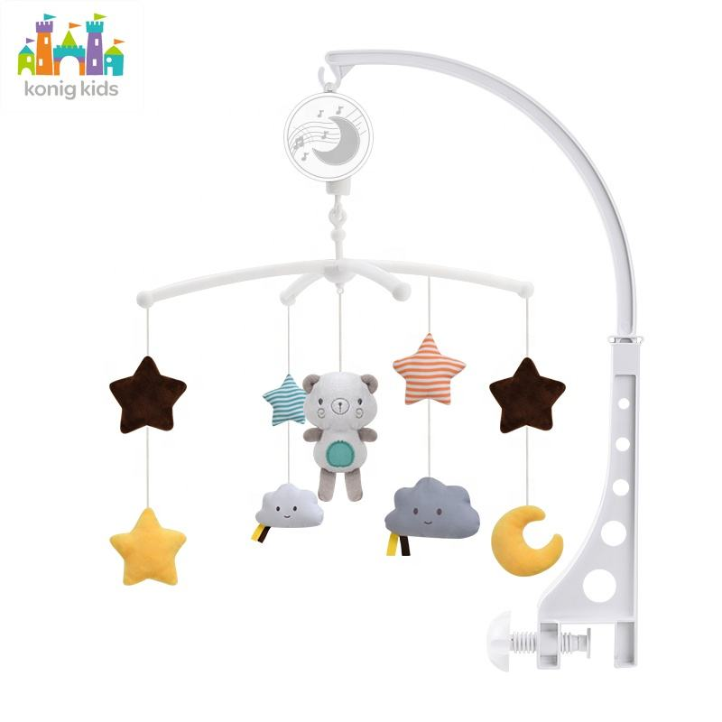 Musical Mobile Baby Mobile Crib Bed Toy Music Box Plastic Baby Mobile With Music