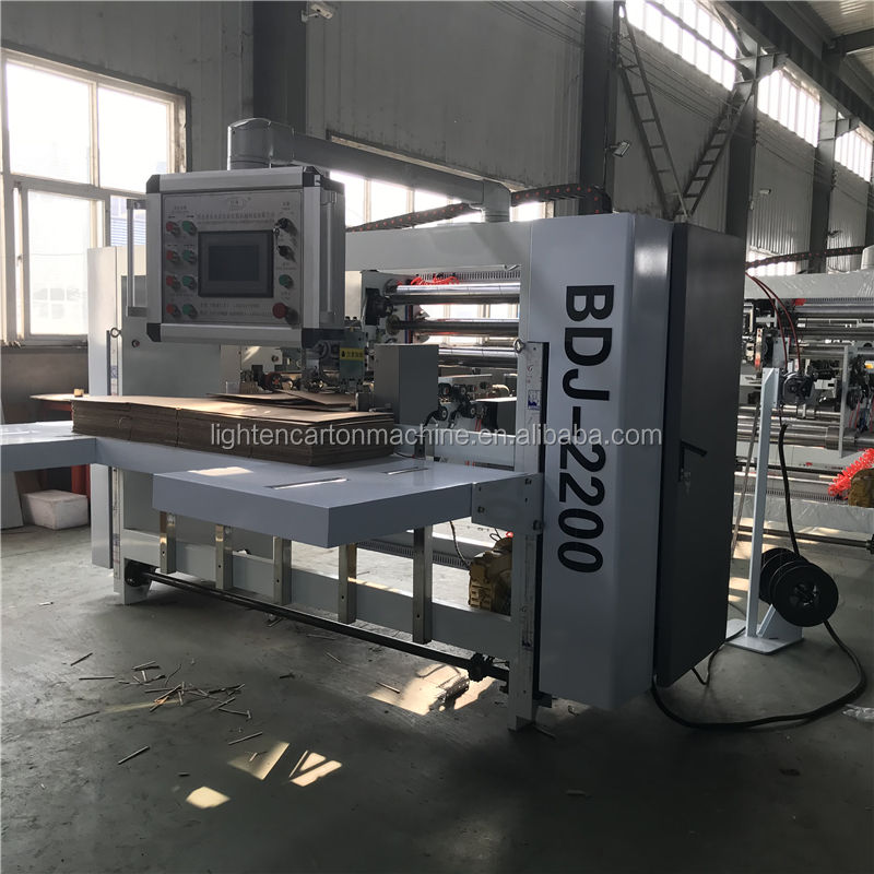 High-speed semi-auto stitcher/Cardboard Binding Machinery Of Carton Box Packing Machine