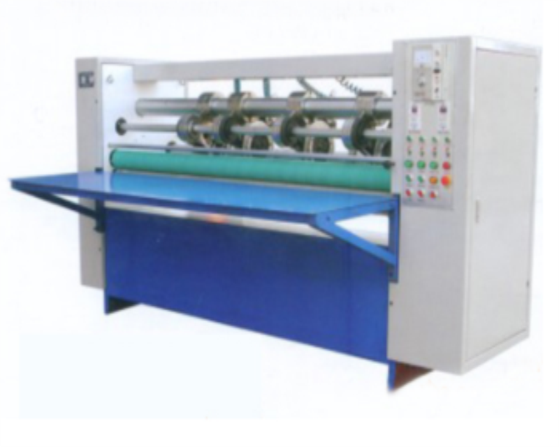 Corrugated Cardboard Thin Blade Slitter and Scorer Machine Carton Box Slitter Creaser Machine