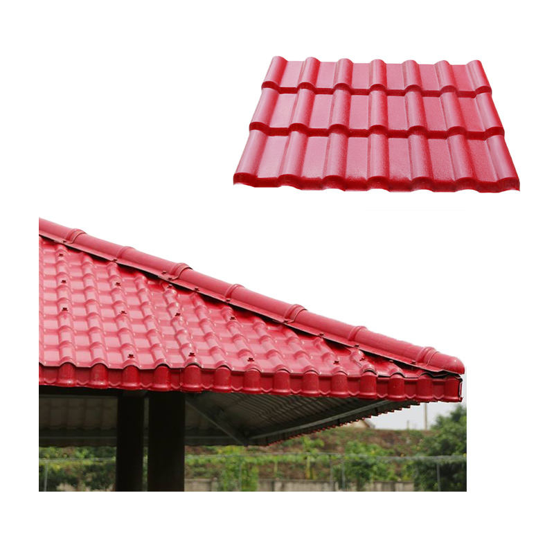 Waterproof pvc panel roof ASA plastic roofing sheet for shed