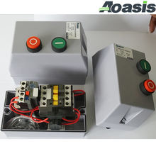 QCX2-18 18A 400V dol le1 magnetic motor starter switch with ac contactor wenzhou factory price water proof IP54