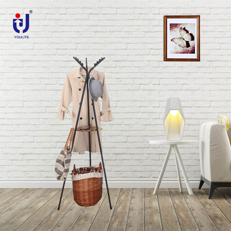 Metal Coat Rack And Hanger Industrial Antique Style Furniture Free Standing Metal Hat And Floor Coat Clothes Stand Rack Hanger