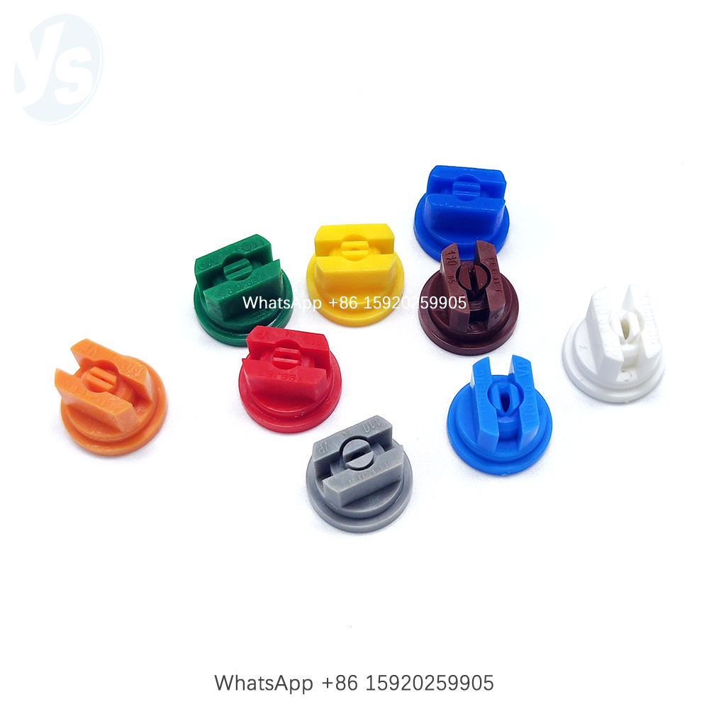 YS Plastic Flat Fan Nozzle Tip, Agricultural Boom Sprayer Nozzle Tip, TP Nozzle Tip