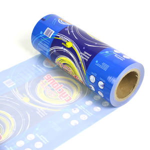 OEM service high quality printed laminated film roll PET/PE material for industrial use