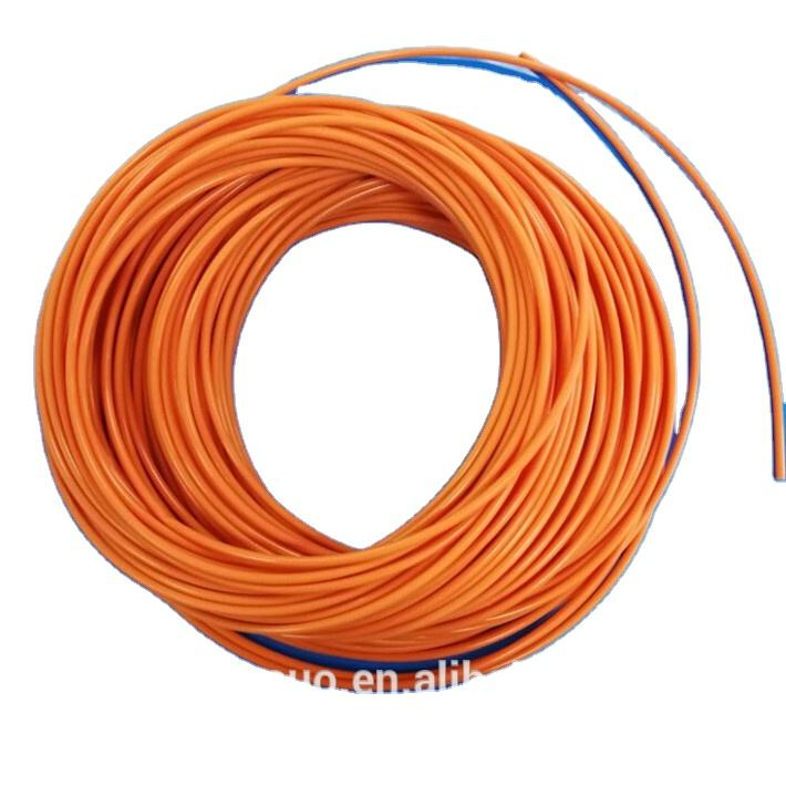 FEP tube Orange OD 6.3mm*ID 4.5mm /FEP Orange pipe/FEP convoluted tube 6*4mm