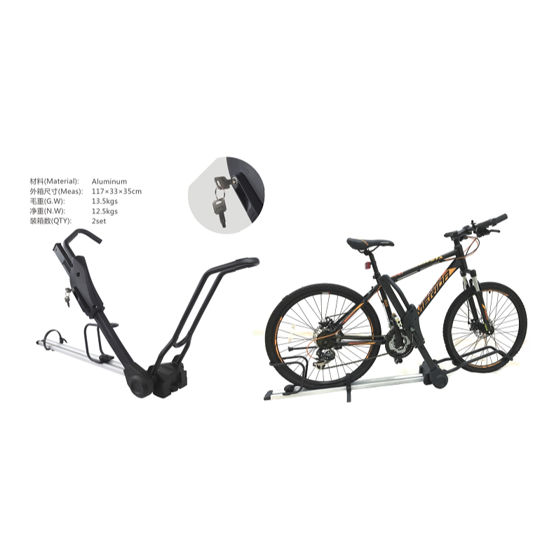New Upgrade Locking Aluminum Universal Bike Rack
