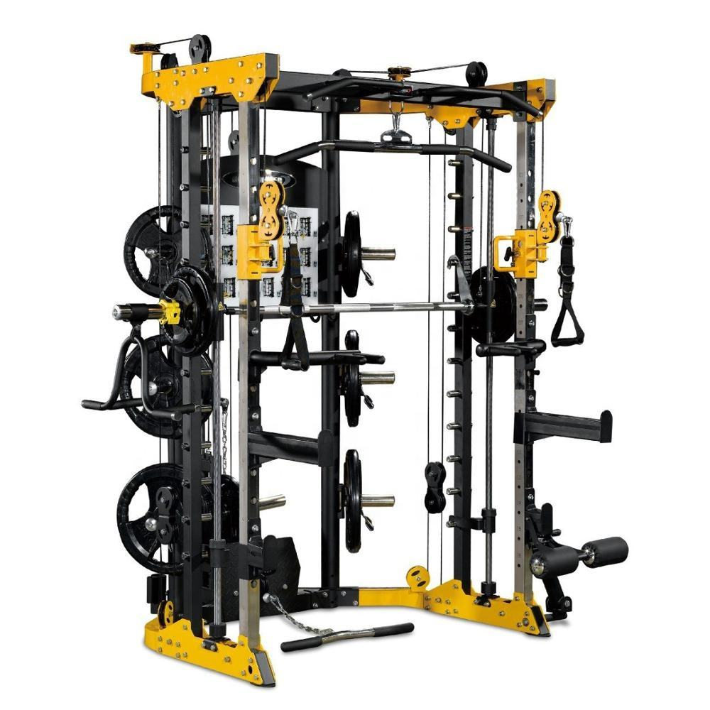 Functional Trainer Cable Crossover Station Home Gym Pulley Machine Fitness Equipment Smith Cage Multi equipment