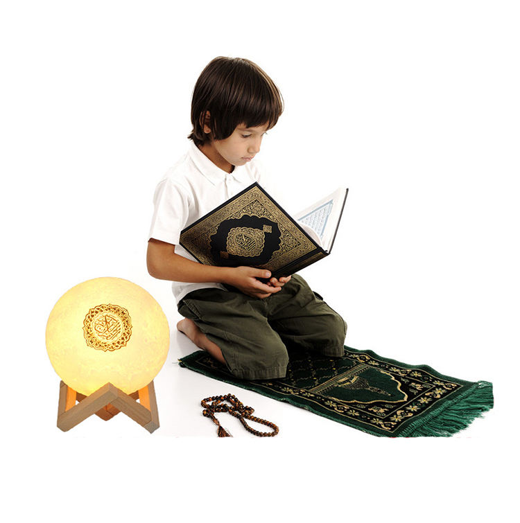 Touch Lampu <span class=keywords><strong>Portable</strong></span> Speaker <span class=keywords><strong>Quran</strong></span> Lampu <span class=keywords><strong>Quran</strong></span> Bulan Lampu Speaker Colorful Mini <span class=keywords><strong>Quran</strong></span> Speaker Lampu Bluetooth