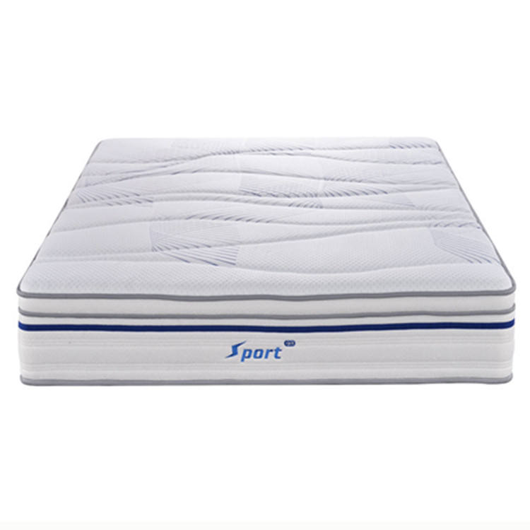 2020 Best Quality Roll Compressed Cool Gel Memory Foam Natural Malaysia Latex Mattress Foam Bed King Pillow Top Mattress