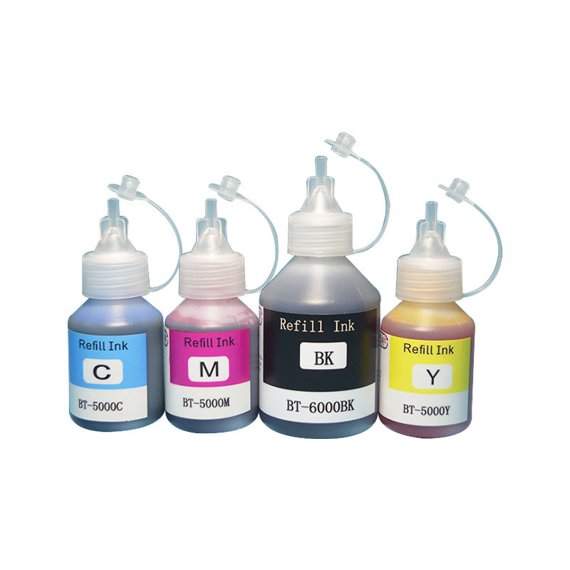 Water Based Dye Ink Refills for Brother DCP-T700W T800W T500W T300 Printer