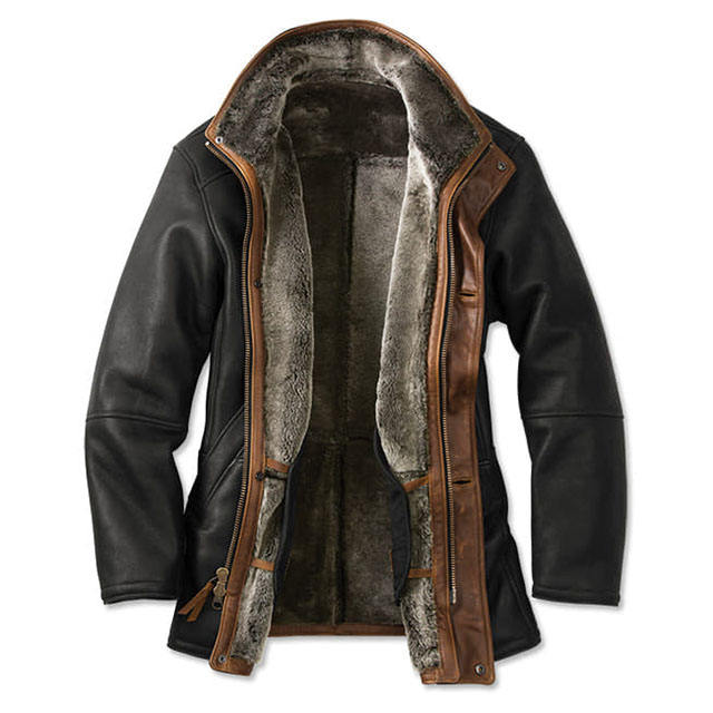 2019 Factory Men Cowhide Fur Jacket Luxury Thick And Warm Leather Coat Mens Winter Coats Customized