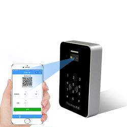 IP65 Touch screen access control qr code open door scanner E