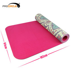 Fitness Exercise Private Label Grounded Foldable Eco Yoga Mat